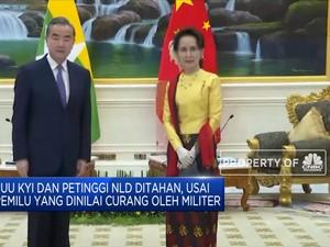 Aung San Suu Kyi Ditahan Militer Myanmar