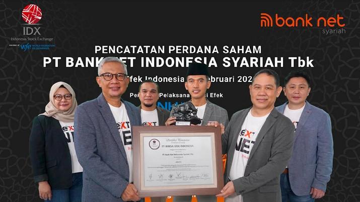 IPO PT Bank Net Indonesia Syariah Tbk (BANK), 1 Februari 2021