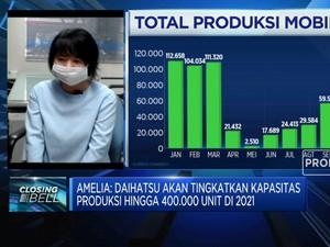 2021, Daihatsu Naikkan Kapasitas Produksi Jadi 400 Ribu Unit