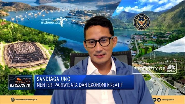 5 Destinasi Super Prioritas, PR Besar Sandiaga Uno di Kemenparekraf(CNBC Indonesia TV)