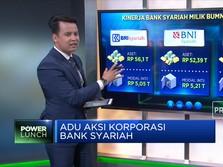 Adu Aksi Korporasi Bank Syariah