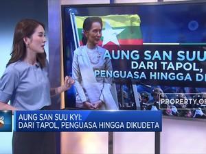 Aung San Suu Kyi: Dari Tapol, Penguasa Hingga Dikudeta