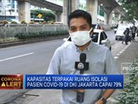 Ruang Isolasi Pasien Covid-19 DKI Jakarta Capai 79%