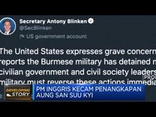Dunia Kecam Kudeta Militer Myanmar