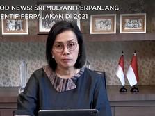 Good News! Sri Mulyani Perpanjang Insentif Perpajakan di 2021