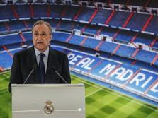Susul Zinedine Zidane, Presiden Real Madrid Positif Covid-19