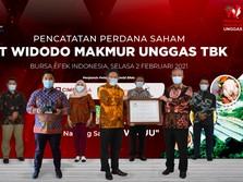 Listing Perdana, Saham Widodo Makmur Unggas Meroket 22%