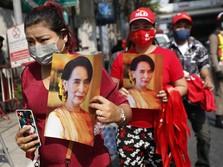 Kudeta Myanmar Panas Lagi, Suu Kyi Terancam 'Diseret' ke Bui