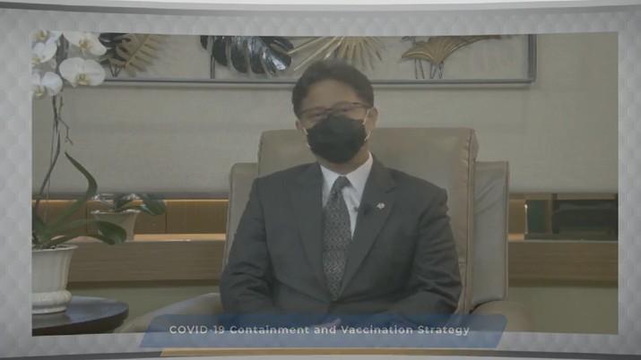 Menteri Kesehatan Republik Indonesia Budi Gunadi Sadikin (Tangkapan Layar Youtube Bank Mandiri)