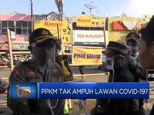 PPKM Tak Ampuh Lawan Covid-19