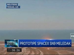 Prototipe Roket SpaceX Meledak Saat Mendarat