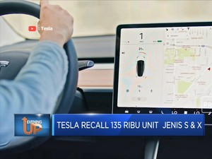 Tesla Recall 135 Ribu Unit Mobil Jenis S & X