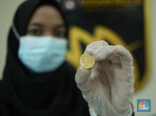 Produksi Turun, Antam Bidik Penjualan 18 Ton Emas Tahun Ini