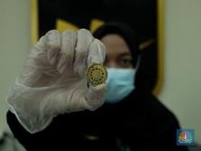 Aduh Biyung! Harga Emas Antam Jeblok ke Level Rendah 9 Bulan