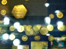 Luar-Dalam Tak Mendukung, Harga Emas Antam Hari Ini Jeblok 1%