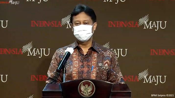 Menteri Kesehatan Budi Gunadi Sadikin (Tangkapan Layar Youtube Sekretariat Presiden)