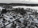 Melihat Badai Salju di Amerika Serikat