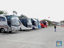 Mudik Dilarang, Nasib Pengusaha Bus AKAP Makin Suram