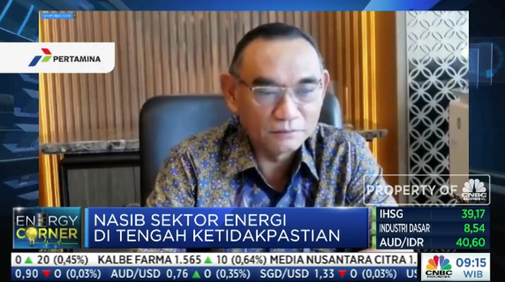 Wakil Direktur Utama PT PLN (Persero) Darmawan Prasodjo