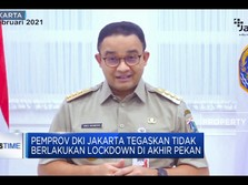 Jakarta Tidak Lockdown Akhir Pekan!