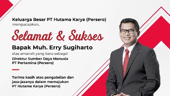 Direktur SDM Pertamina, Muh. Erry Sugiharto (ist)