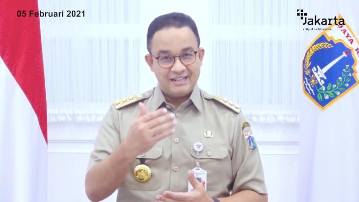Penjelasan Gubernur DKI Anies Baswedan Terkait PSBB di DKI Jakarta. (Tangkapan Layar Youtube PEMPROV DKI JAKARTA)