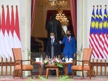 Hasil Pertemuan Jokowi dengan Muhyiddin, RI-Malaysia Akrab!