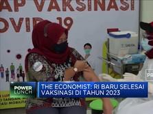 Vaksinasi Indonesia Jauh Tertinggal