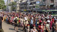 Kudeta di Myanmar: Unjuk Rasa Makin Kacau, Internet Diputus!