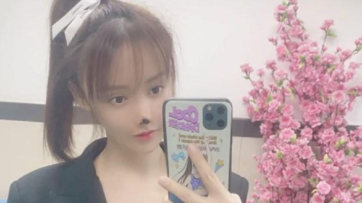 Gao Liu, seorang aktris China/Dok Weibo