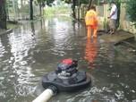 Penampakan Rumah-rumah di Kota Bekasi yang Tergenang Banjir