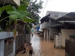 Perhatian! Daftar Titik Lokasi Banjir di DKI Jakarta Pagi Ini
