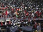 Potret Ribuan Petani India Demo Tolak Reformasi Agraria
