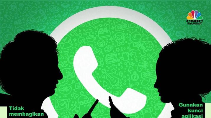 Infografis/5 Tips Aman Pakai WhatsApp Tanpa Harus Pindah ke Telegram Cs/Aristya Rahadian