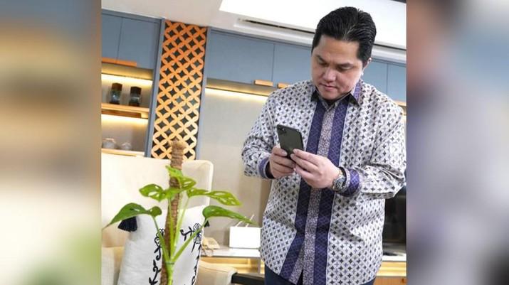 Menteri BUMN Erick Thohir (Instagram)