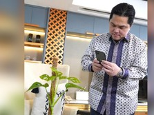 Emiten Erick Thohir Digembok Lagi, Suspensi 3 Saham Dibuka!