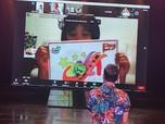 Keseruan Lomba Mewarnai Virtual di Trans Studio Bandung