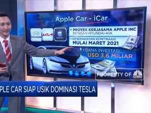 Apple Car Siap Usik Dominasi Tesla