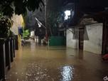 Pejaten Timur Hingga Rawajati Masih Terendam Banjir Malam ini