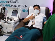 Untuk Indonesia, Pekerja BRI Ikut Donorkan Plasma Konvalesen