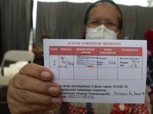Sederet Efek Samping Vaksin Sinovac China untuk Lansia
