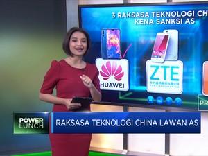 Raksasa Teknologi China Lawan AS
