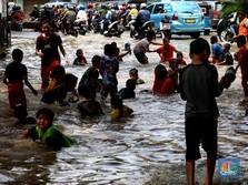 Pengumuman! Waspada Banjir Besar Besok di DKI Hingga Depok