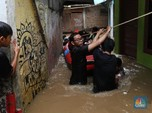BPBD DKI: 42 RW Terdampak Banjir Jakarta, 1.029 Mengungsi