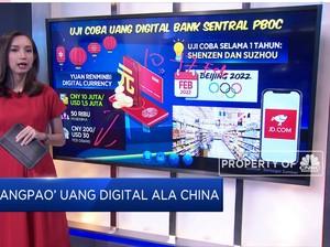 'Angpao' Uang Digital Ala China