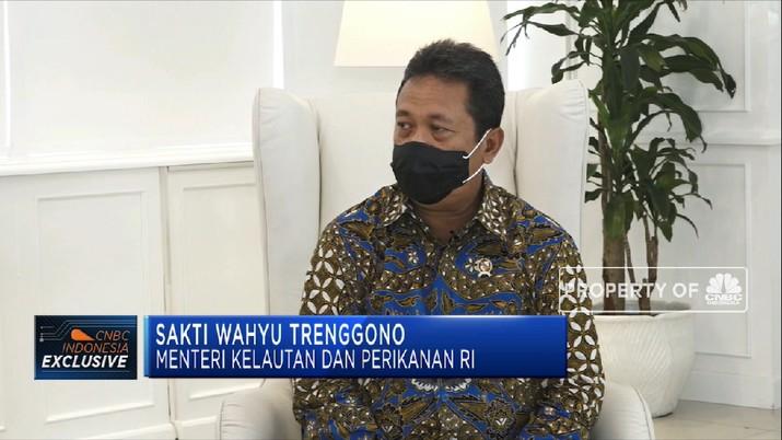 Gebrakan Menteri KP Memaksimalkan Potensi Sektor Kelautan RI(CNBC Indonesia TV)