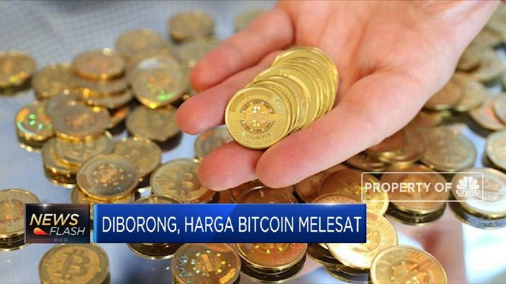 Harga Bitcoin Melesat Usai Diborong Tesla (CNBC Indonesia TV)