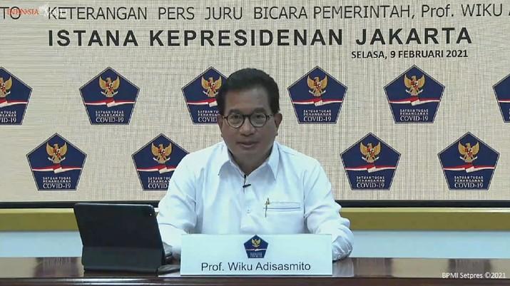 Keterangan Pers Juru Bicara Satgas Penanganan Covid-19 Wiku, Kantor Presiden, 9 Februari 2021
