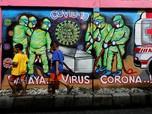 Ini 12 Zona Merah COVID-19 di Indonesia, DKI Jakarta Nihil