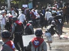 Kepala Pendemo Ditembak, Ini Kronologi Demo Berdarah Myanmar